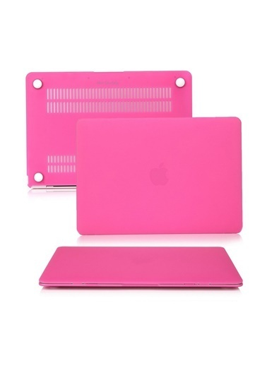 "Mcstorey MacBook Air A1369/A1466 13"" 13.3"" Kılıf Kapak Koruyucu Ruberized  Hard Incase Mat Pembe"